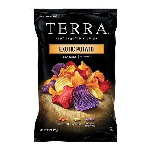 (3 Pack) TERRA Exotic Potato Chips with Sea Salt, 5.5 oz.