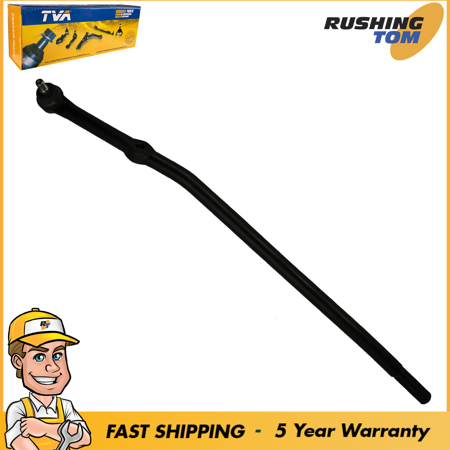 Front Right Inner Tie Rod Drag Link for Ford E250 E350 Super Duty Econoline