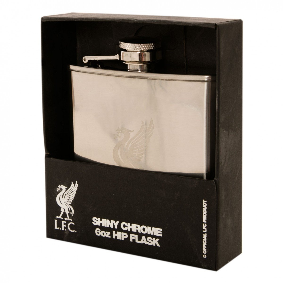 Liverpool FC  - Chrome Hip Flask