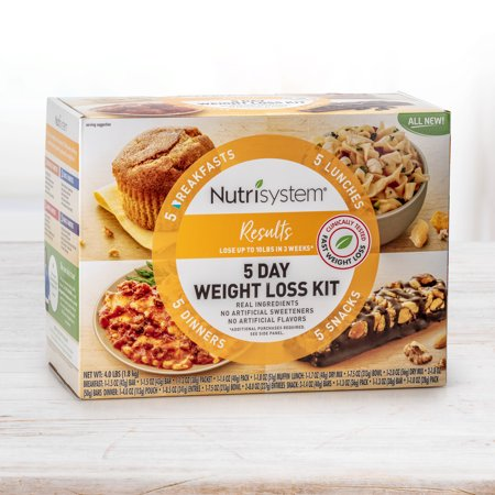 Nutrisystem Results 5 Day Weight Loss Kit, 4 Lbs, 20