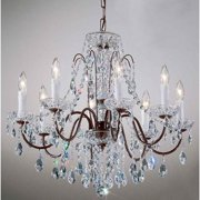 Daniele Chandelier Light (Gold - Swarovski Spectra)