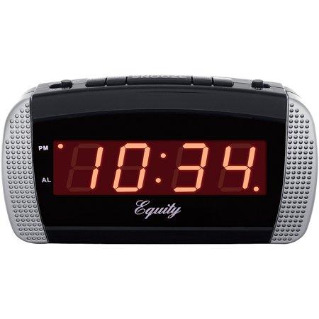 la crosse technology equity super loud led alarm clock. Black Bedroom Furniture Sets. Home Design Ideas