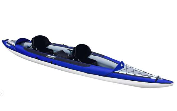 Aquaglide Chinook XP Tendem XL 1-3 Person Inflatable Kayak Boat by Aquaglide