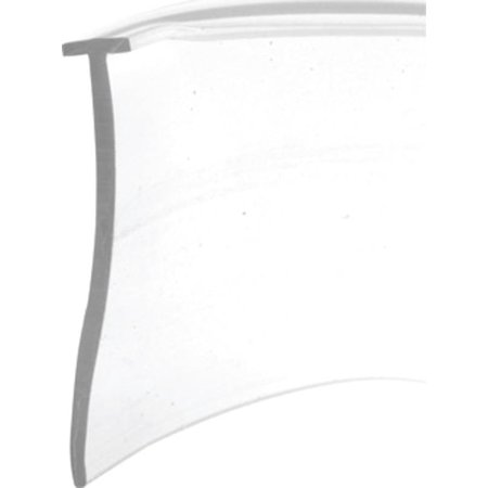 Prime-Line Products M 6211 5/32 in. x 36 in. Clear Vinyl, Tee Shaped Shower Door Bottom Seal