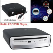 USB 2.0 Interface Auto Radio CD/DVD Dish Box Player External Stereo For Android