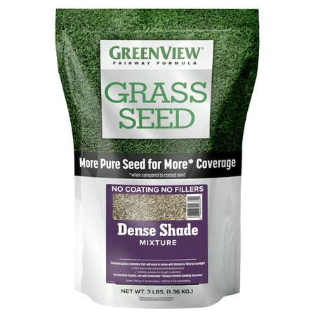 GreenView Fairway Formula Grass Seed Dense Shade Mixture, 3