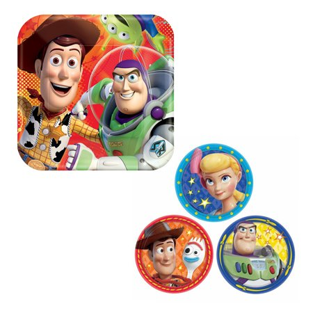 Disney Pixar Toy Story Birthday Party Plates Supply Pack 32 Count Set New