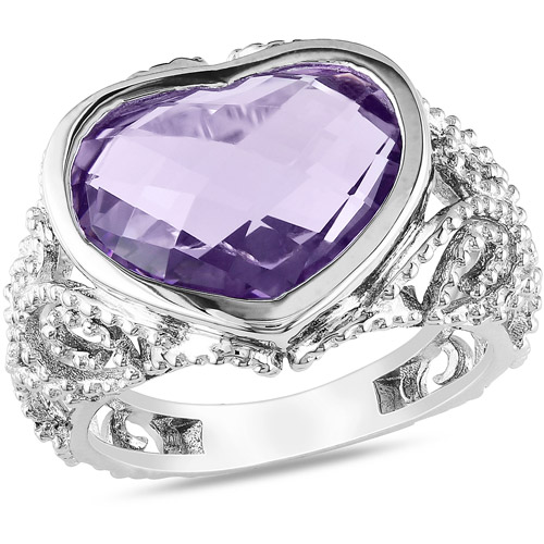 6 carat t g w amethyst fashion ring in walmart