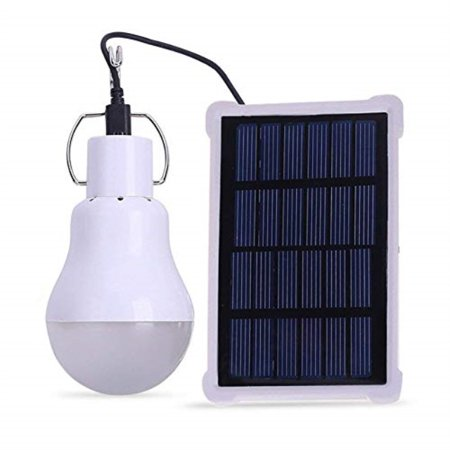 Elelight Portable Solar Led Bulb Lights Solar Powered Chicken Coops Light With 3 5m Solar Panel For Camping Tent Fishing Hiking Chicken Coop Shed