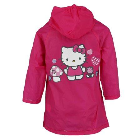 Sanrio Kid's Hello Kitty Rain Jacket - image 1 of 2