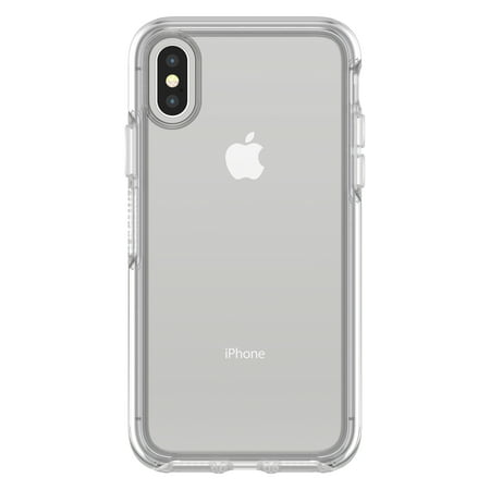 fff587e84cd8dd OtterBox Symmetry Series Clear Case for iPhone X, Clear - Walmart.com