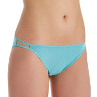 Vanity Fair Womens Body Shine Illumination String Bikini, 7, NH Rainforest Aqua