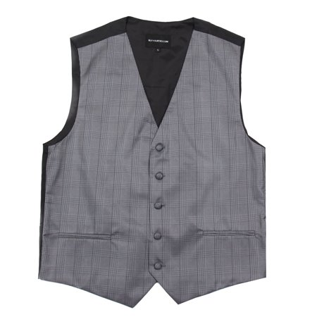 Mens Plaid Dress Vest For Tuxedo And Suit Proms And Weddings