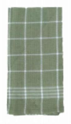 "18"" x 25"" Green 100% Cotton Kitchen Towel Only One by"