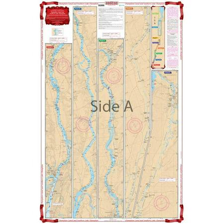 Waterproof Charts, Standard Navigation, 11 Champlain Canal & Southern Lake -