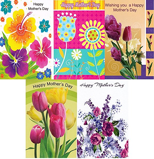 Assorted Mother's Day Greeting Cards 30 Pack