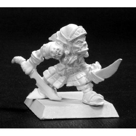 Reaper Miniatures Neek, Reven Sergeant #14095 Warlord Unpainted RPG D&D Figure
