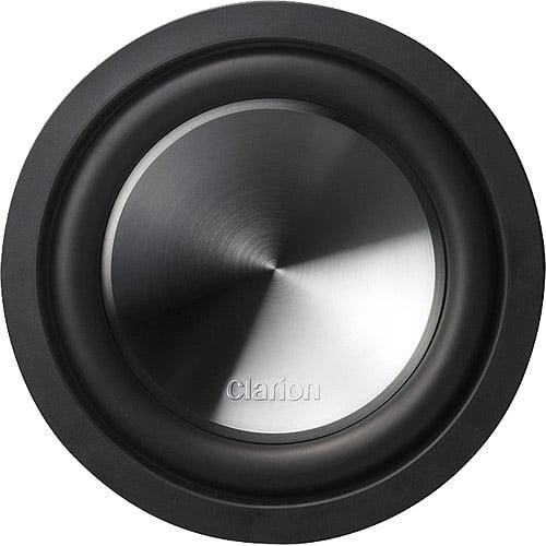"""Clarion WQ2510D Wq Series Dual 4 Ohm Voice Coil Subwoofer (10"""")"""