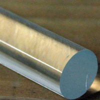 """Acrylic Lucite Rod Dowel - One 1/2"""" (12.7mm) x 24""""(610mm) (Clear)"""