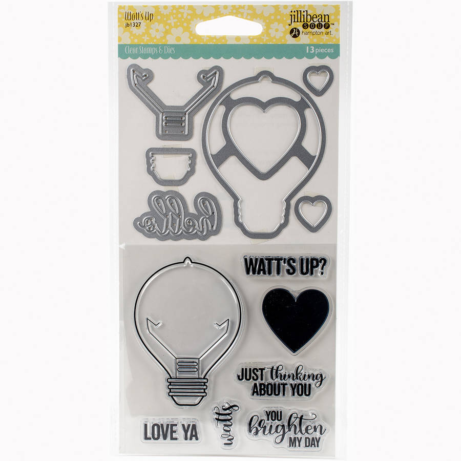 Jillibean Soup Shaker Clear Stamps, & Die Set