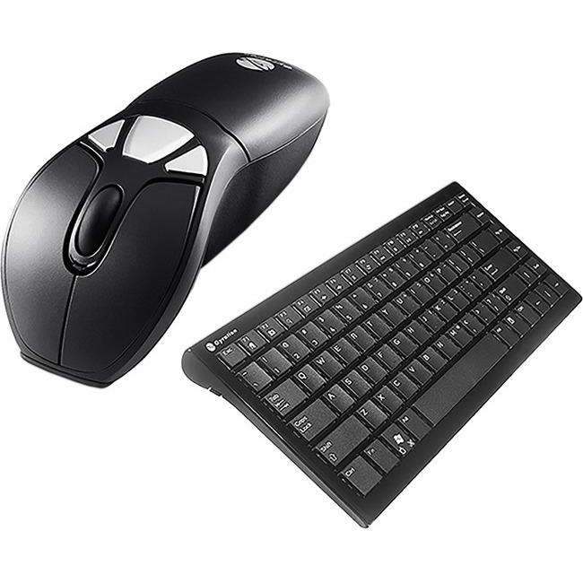 Gyration Air Mouse GO Plus with Full Size Keyboard - Keyboard - Wireless - 104 Keys - USB - Mouse - Wireless - Optical -
