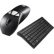 Gyration Air Mouse GO Plus & Full Size Keyboard - Precise desktop mouse - In air' presentation controller - Green - rechargeable battery - 04-key Gyration wireless keyboard - Includes new MotionTools