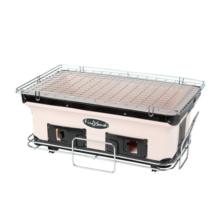 Broan Grill - Fire Sense 60450 HotSpot Rectangle Yakatori Charcoal Grill