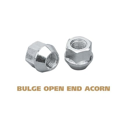 Topline Wheel C1310B344 Lug Nuts Bulge Acorn 0.75 in. Hex 0.562 in. Right Hand - Pack of 4 - image 1 de 1