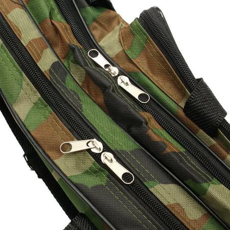 """47.2"""" Fishing Rob Bag Camouflage Fishing Tackle Bag 3-Layer Wear-resistant Shoulder Bag - image 4 de 7"""