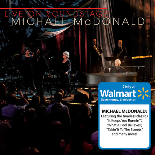 Michael McDonald - Live On Soundstage (Walmart Exclusive) (CD/DVD)