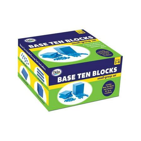 Didax DD-211738 Base Ten Blocks Small Group Set