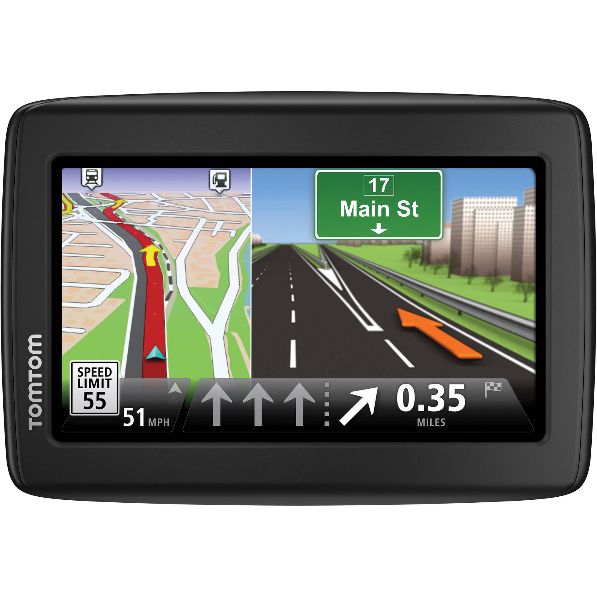 TomTom VIA 1515TM GPS Device with Lifetime Maps and Traffic