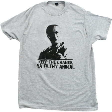 d2975b85b KEEP THE CHANGE, YA FILTHY ANIMAL Unisex T-shirt / Home Alone, 90s Movie Tee  - Walmart.com