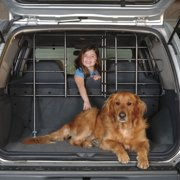 Precision Vehicle Pet Barrier With Door