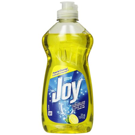 25 Packs   Joy Ultra Dishwashing Liquid  Lemon Scent  12 6 Ounce