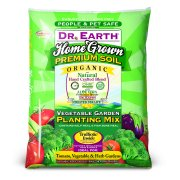 Dr. Earth Organic & Natural Home Grown Vegetable Garden Planting Mix, 1.5 CF