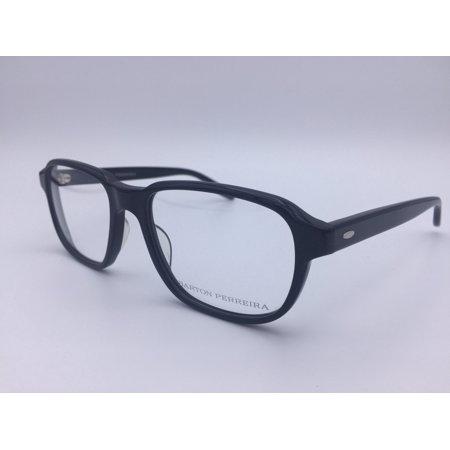 Barton Perreira BP Derrick BLA Black Plastic Eyeglasses 53mm (Barton Perreira Titanium)