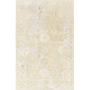 Chandra Rugs Vingel Hand-Knotted Green/Gray Area Rug