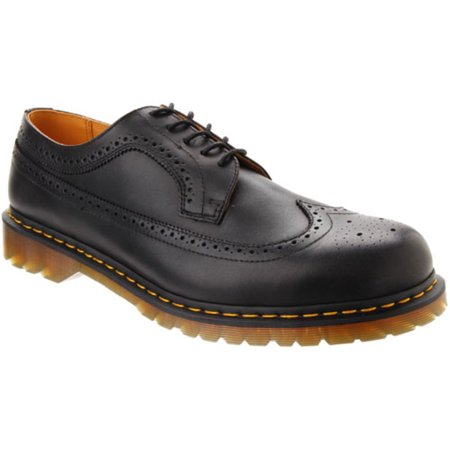 Dr. Martens Men's Oxfords Black 13 UK / 14 US - Kids Red Dr Martens
