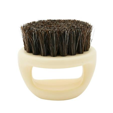 Men Shaving Brush Best Horsehair Shave Wood Handle Razor Barber (Best Razor For Men With Acne)