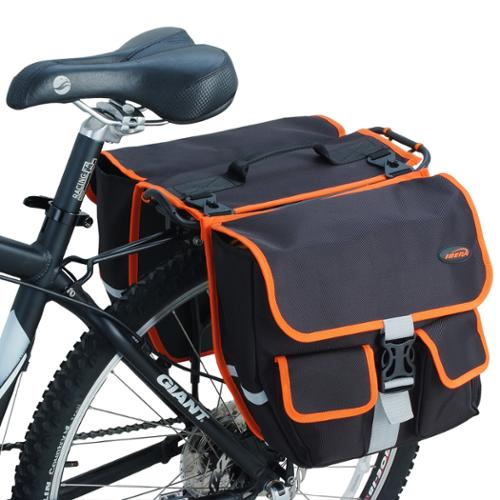 Ibera Bike Commuter Bag Detachable Panniers