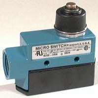 Limit Switch, Top Roller Arm, SPDT, 15 A, 600 V, 5.6 N