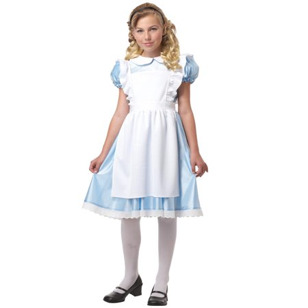 Kids Alice In Wonderland Costume (Alice in Wonderland Child)