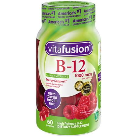 vitafusion Vitamin B-12 1000 mcg Gummy Vitamins,