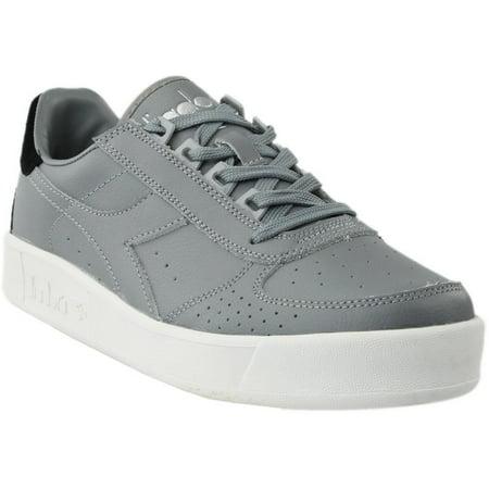 Diadora Mens B.Elite P.L. Casual Athletic & Sneakers (Mens Casual Sneakers)