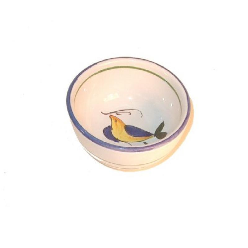 Pepper Mill Imports Tuscan Bird Oil Dipping Bowl, Yellow