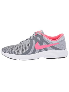 ff8adc89ef ... 6.5Y Youth US Big Kid. Product Image NIKE Girls' Revolution 4 (GS) Running  Shoe, Wolf Grey/Racer Pink