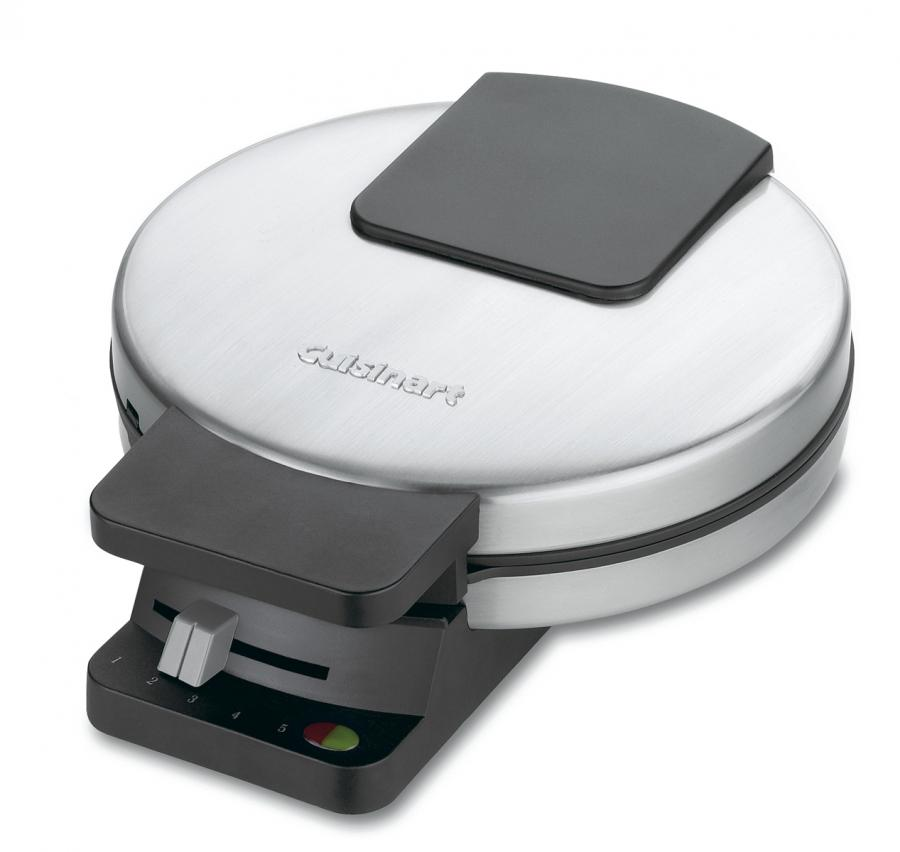 Cuisinart Round Classic Waffle Maker, Brushed Stainless