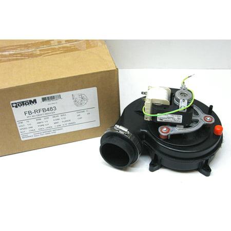 Rotom rfb483 furnace draft inducer blower motor for for Goodman furnace inducer motor replacement