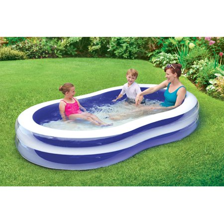 Play Day 103 Quot Transparent Family Pool Walmart Com